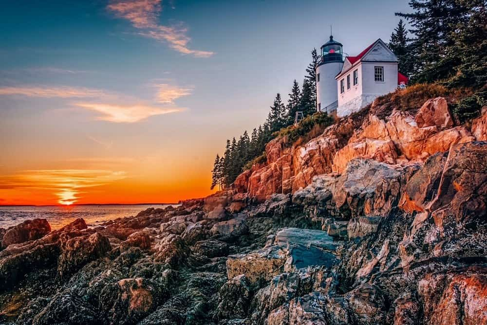 Acadia National Park, Maine East Coast USA