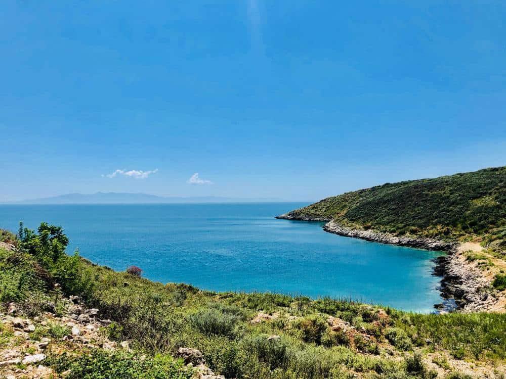 views of Albanian Riviera