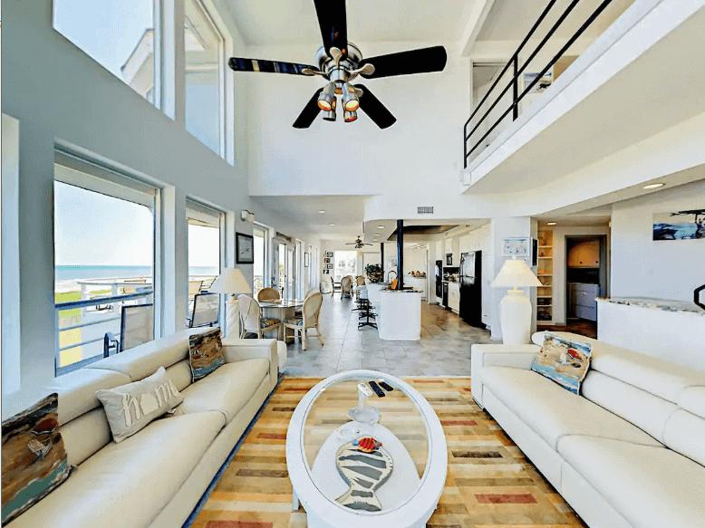 Texas Beachfront Airbnb