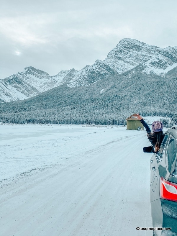 Vancouver to Banff road trips