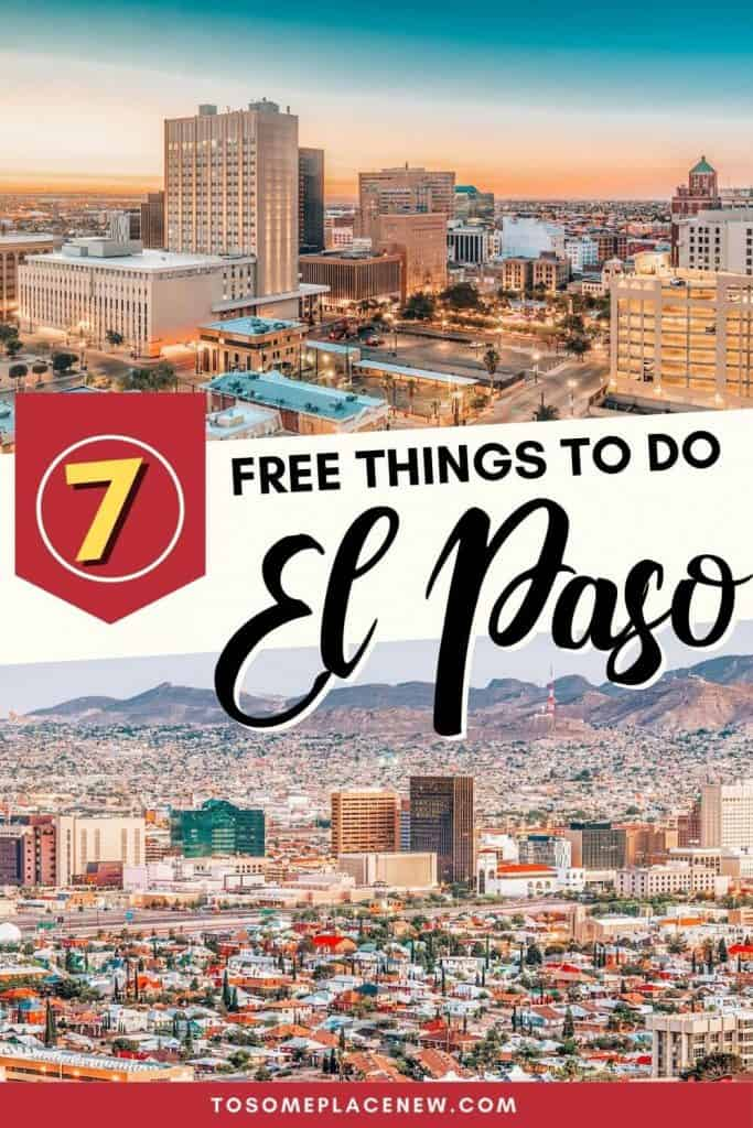 Looking for free things to do in El Paso Texas? In this post, we share the top activities in El Paso for history & culture lovers