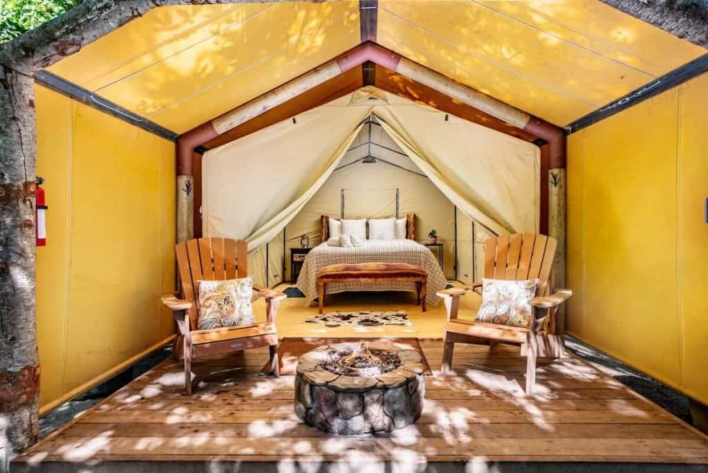 Luxury Tent in Big Sur
