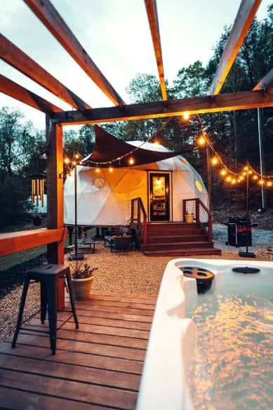 Luxury dome best Airbnbs in North Carolina