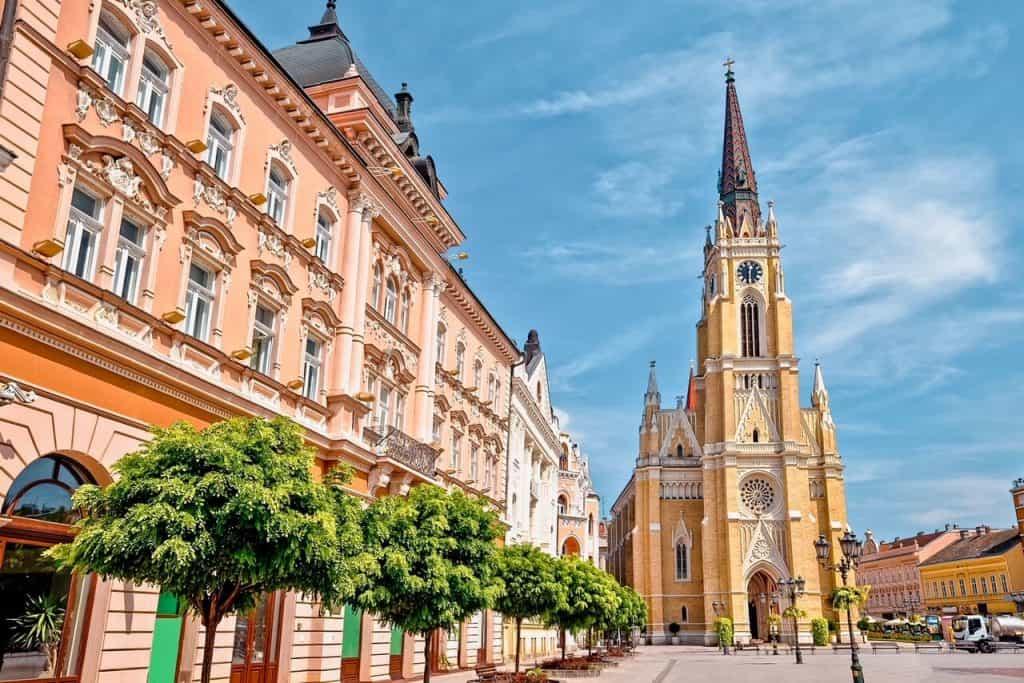 Landmarks in Novi Sad