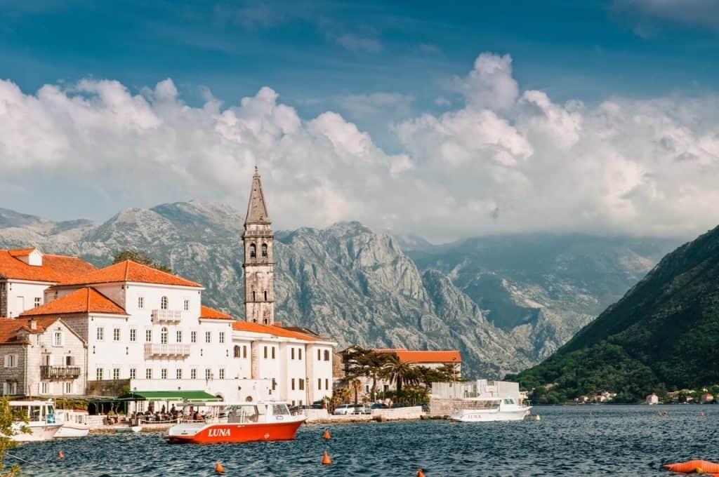 Perast, Montenegro Balkan road trip itinerary