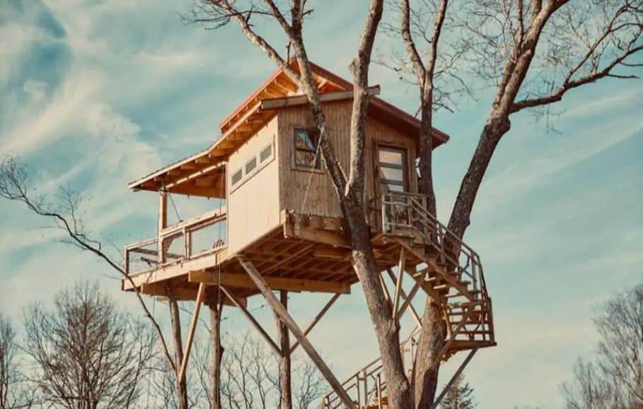 Treehouses in North Carolina Raven Rock