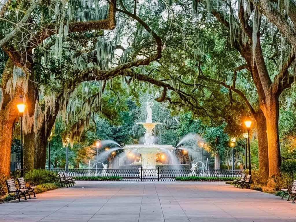 Savannah US weekend getaways