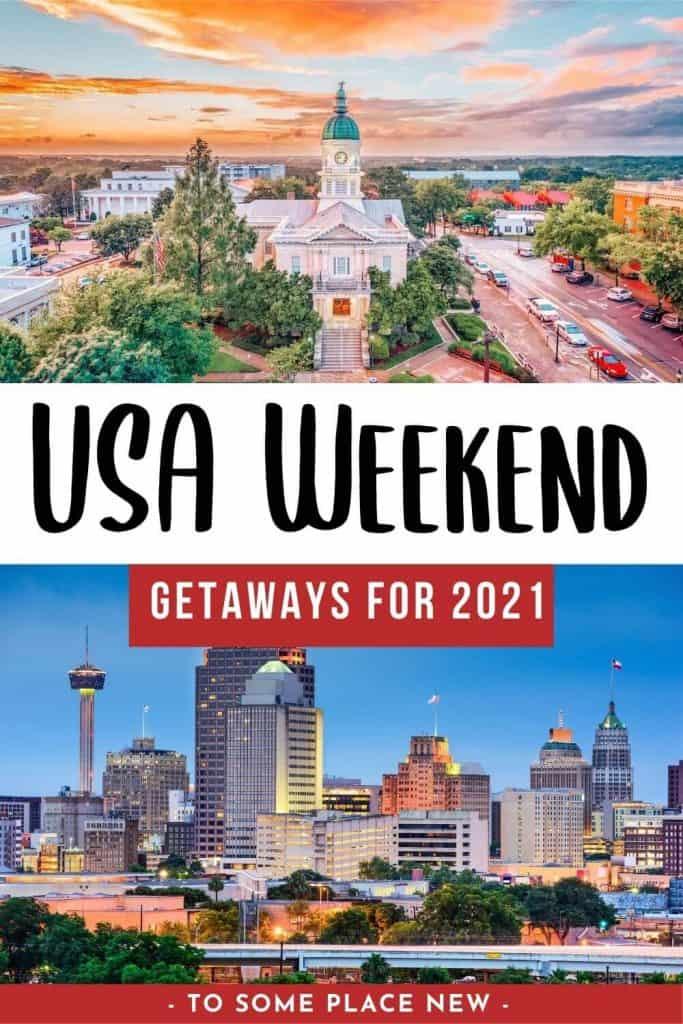 USA Weekend trips