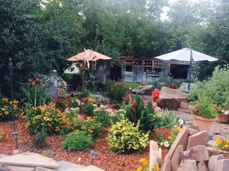 Unique cottage in Boulder with tropical garden