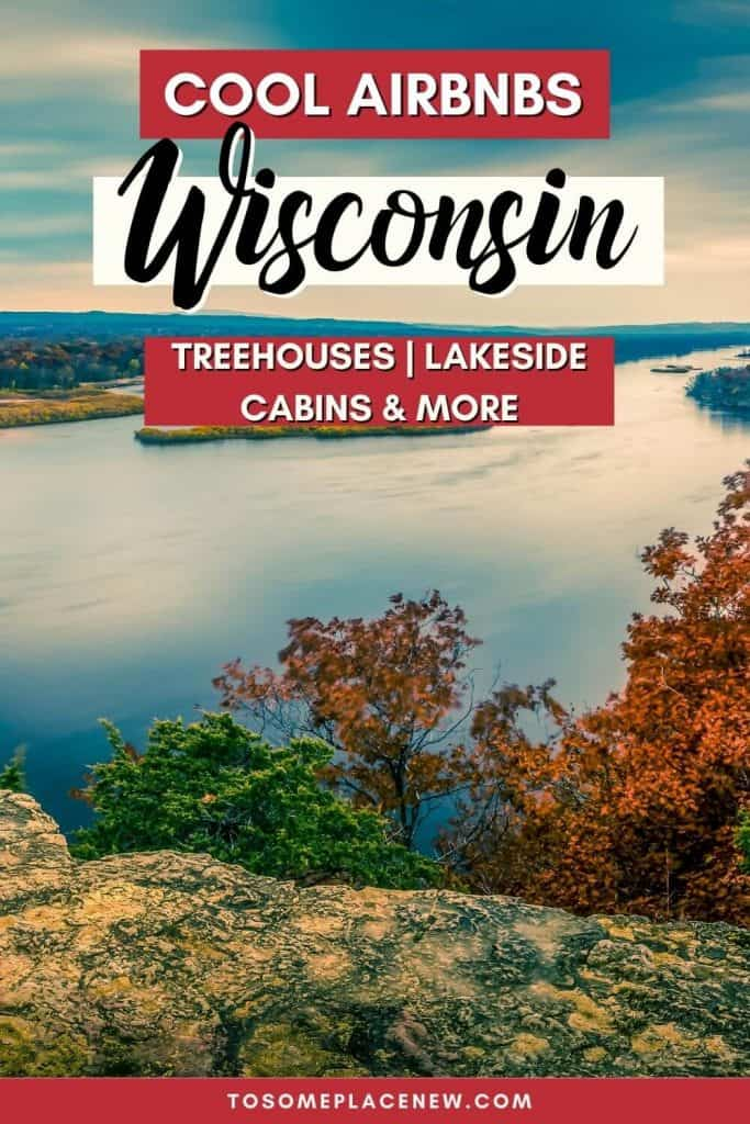 Pin for Wisconsin Airbnbs