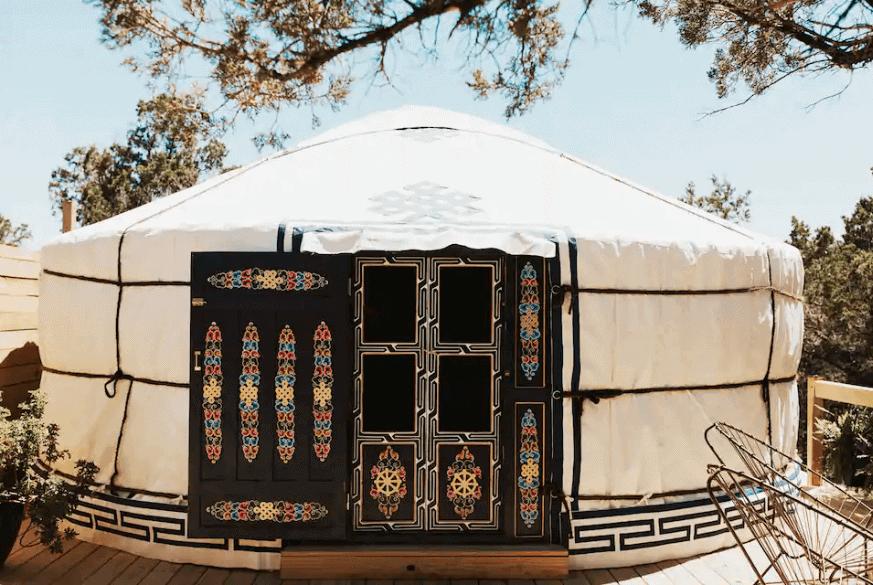 Mongolian Yurt in Texas