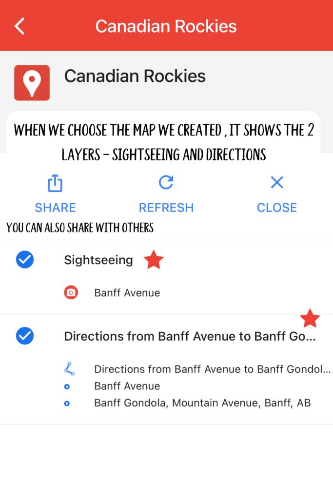 Choose Canadian Rockies sample map