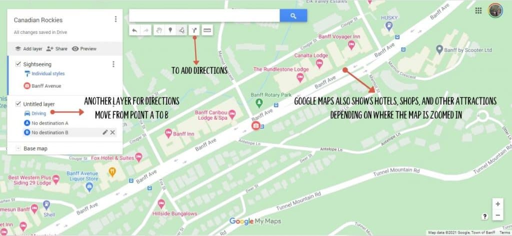 Adding directions to Google Map