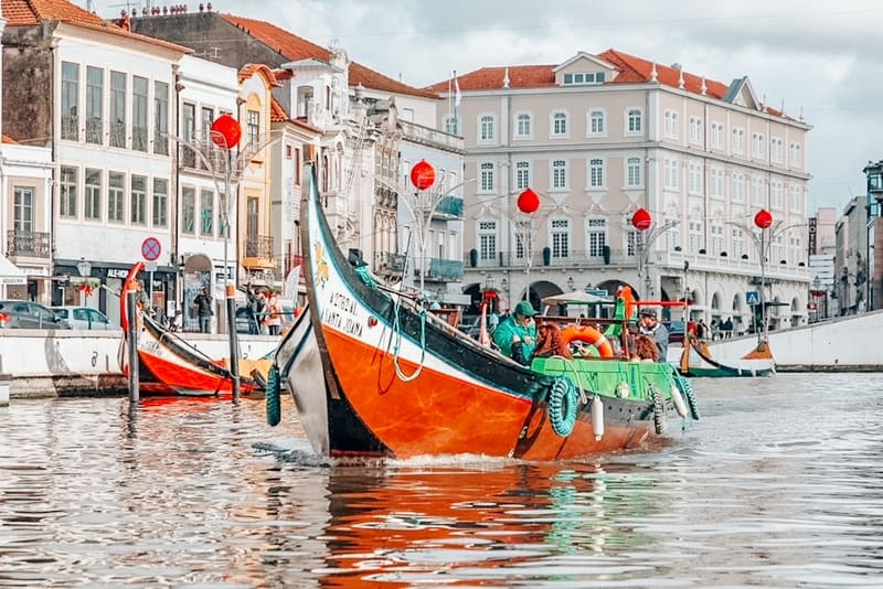 Aveiro called the Venice of Portugal