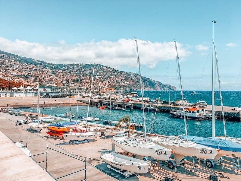 Funchal Portugal views
