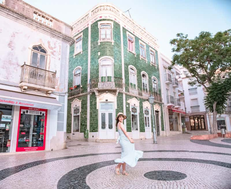 Old town in Lagos Portugal