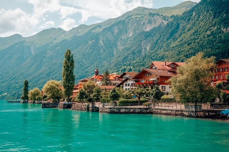 View of Brienz, Berne, Switzerland