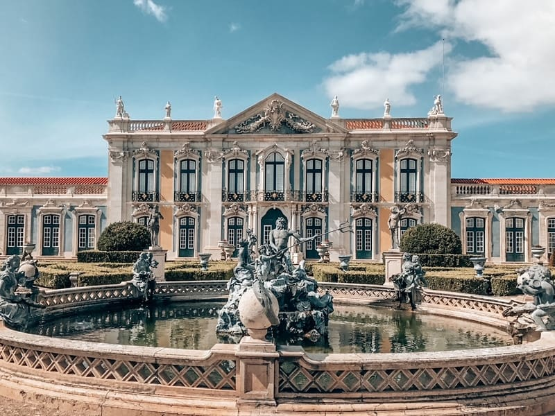 View of Queluz Portugal attractions