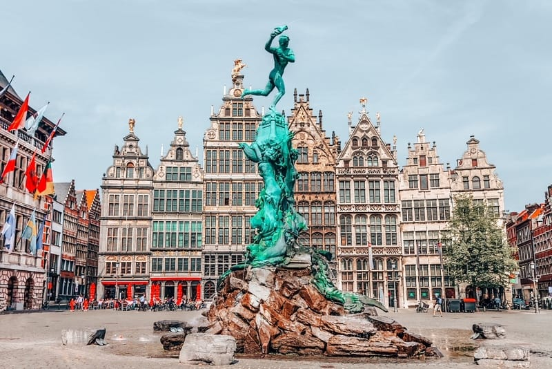 Antwerp City Centre in 4 days in Belgium itinerary