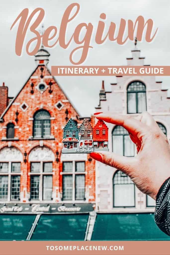 Pin for Belgium itinerary 3 days