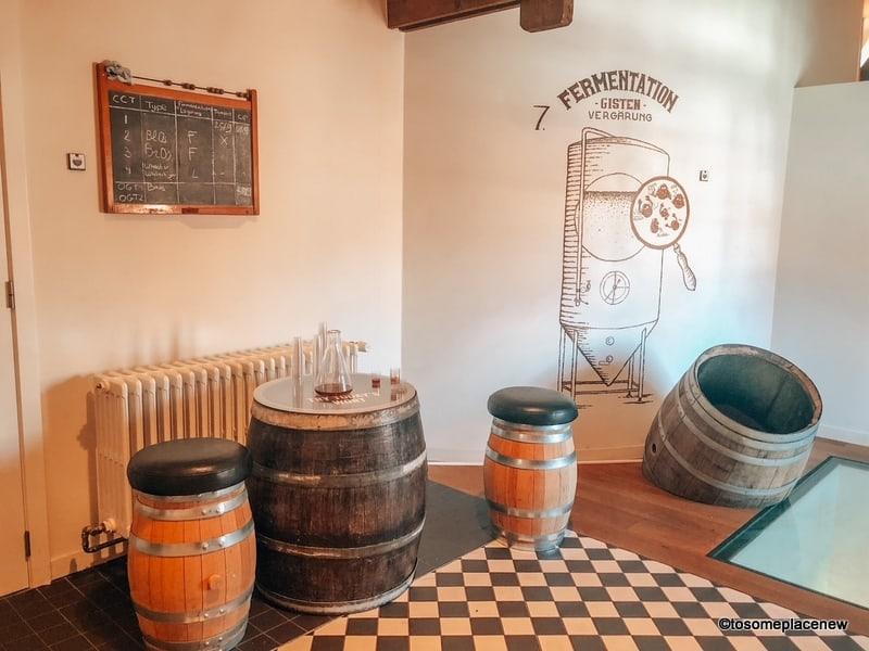 Bourgogne des Flandres Brewery for a tour