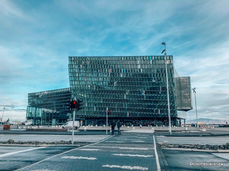 Harpa Concert Hall in 24 hours in Reykjavik
