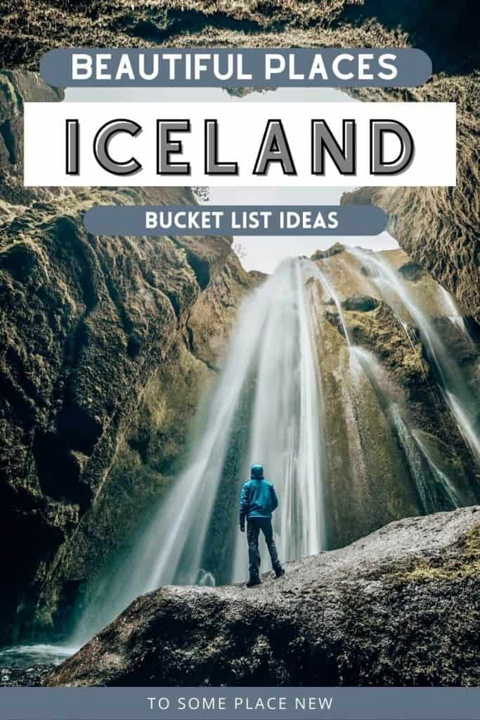 Pin for Iceland travel bucket list