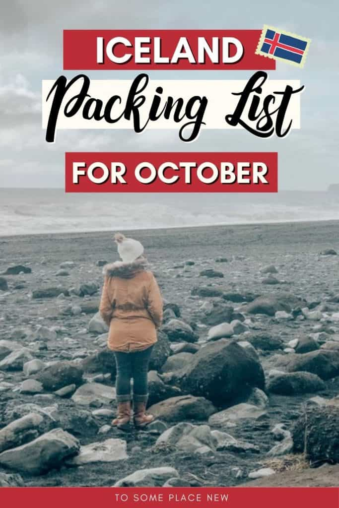 Pin for Iceland packing list in October