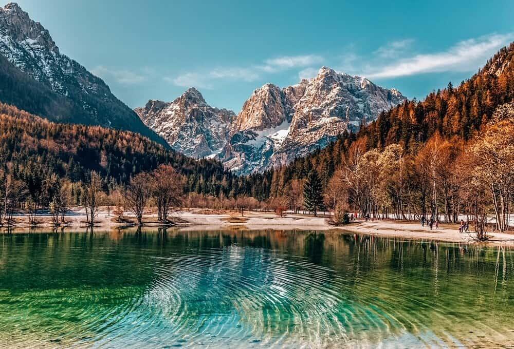Lake Jasna Slovenia's beautiful places