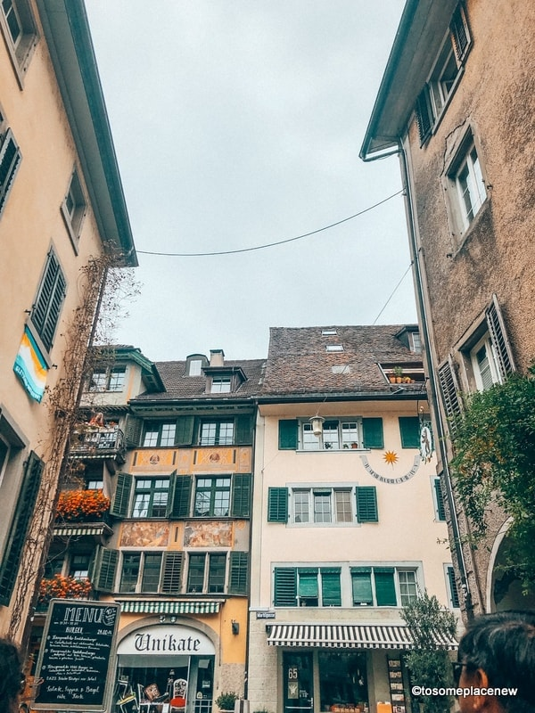 Views of Old town Rapperswil Switzerland Planning tips