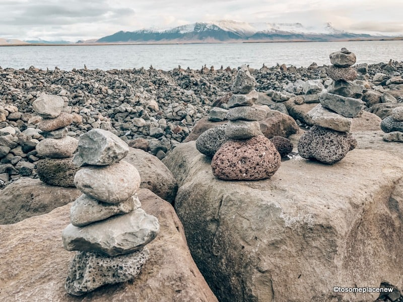 Photos from our Reykjavik visit: View of