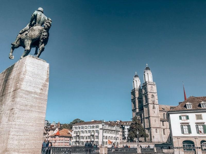 Views of Zurich Old Town: Planning a trip to Switzerland