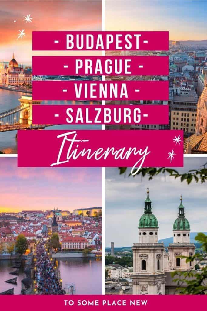 Prague Vienna Budapest itinerary 10 days