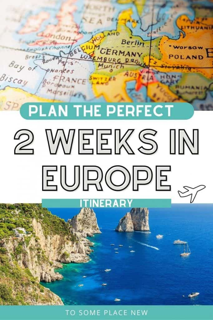 Pin for Europe itinerary 2 weeks