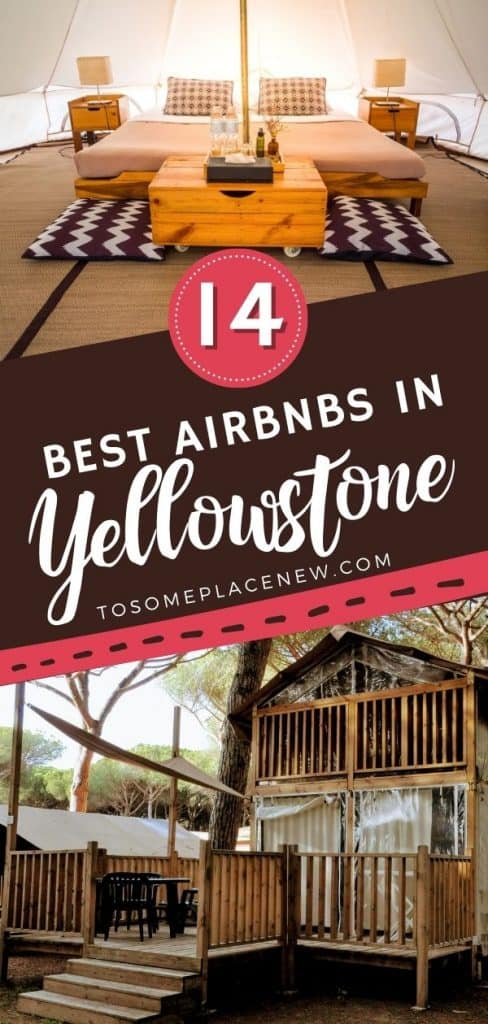 Pin for best Airbnbs near Yellowstone