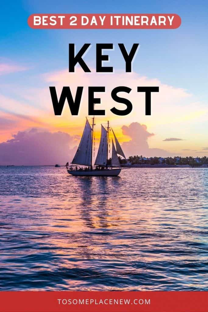Pin for Key West itinerary