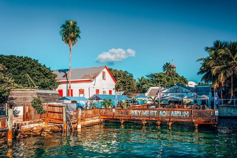 The Key West Aquarium in Key West, Florida.