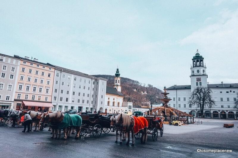 Old town Salzburg