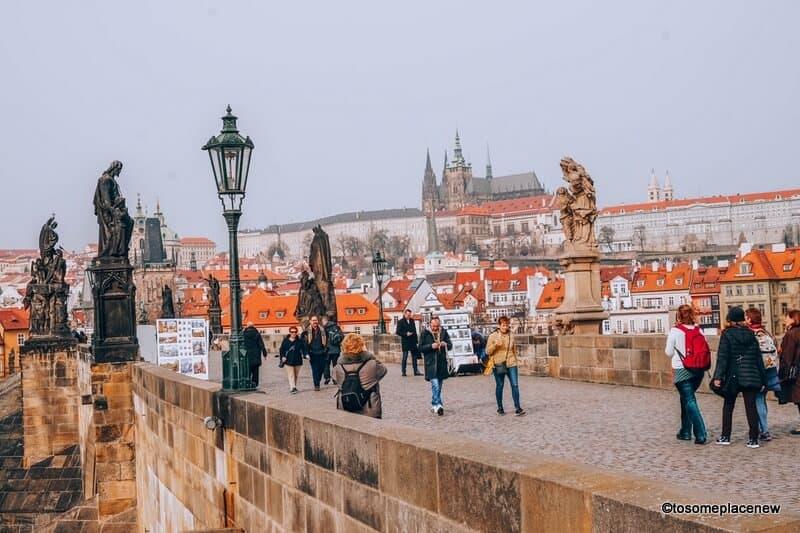 Prague in the spring