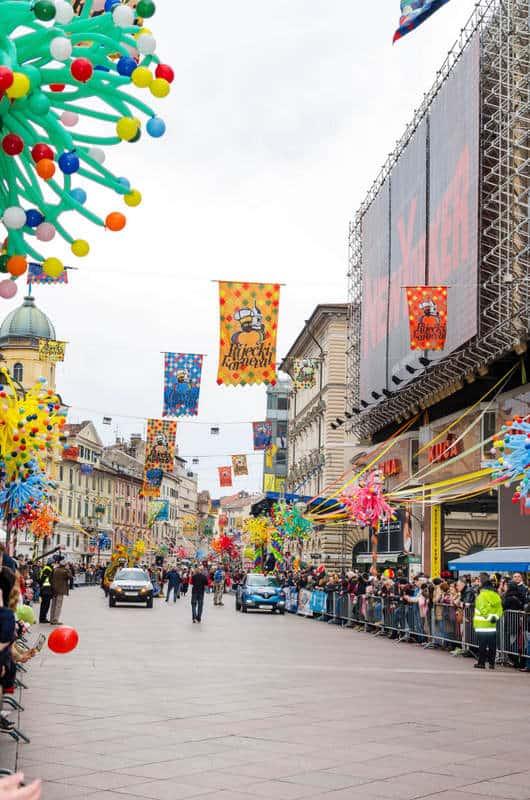 Celebrations in March in Croatia - Rijeka
