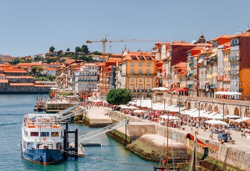 River promenade Porto