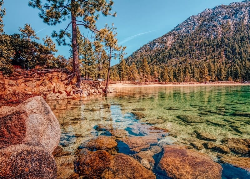 Lake Tahoe North in California