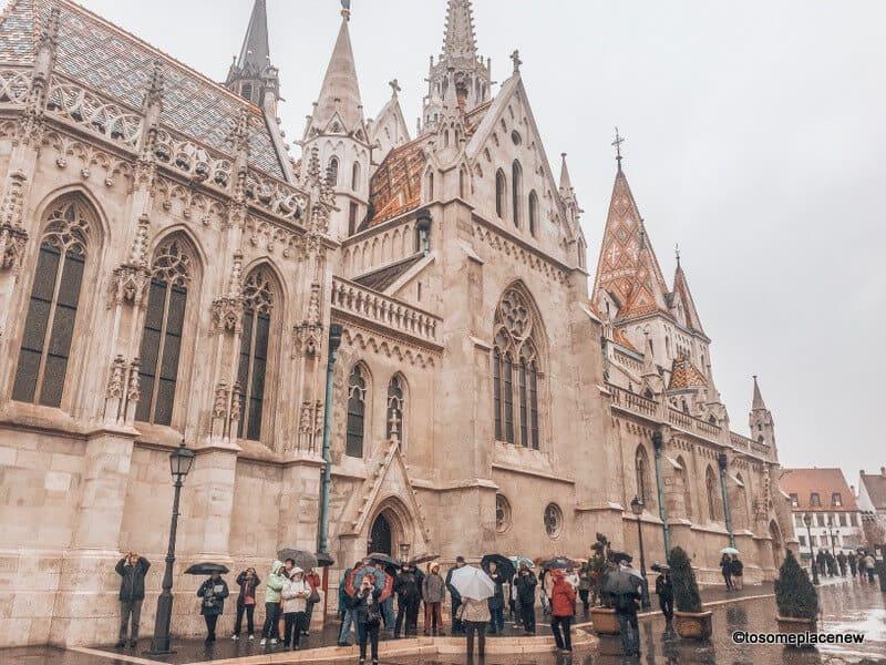 St Matthias Church Buda Complex