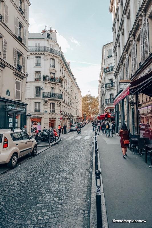 Parisian Lanes in the Fall