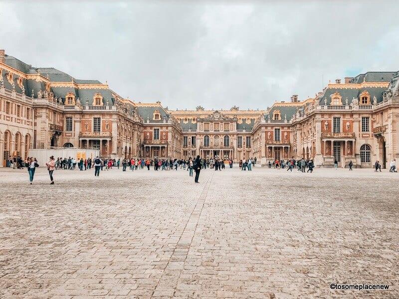 Versailles Palace grounds