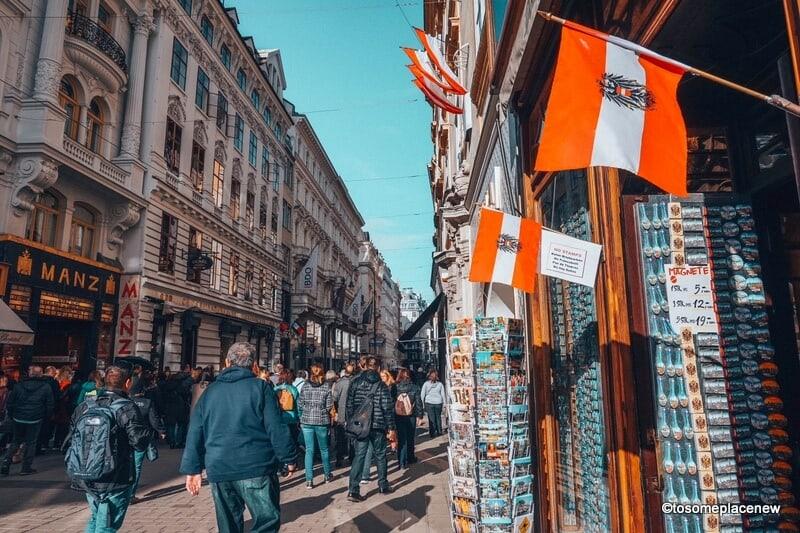 Old town Vienna lanes