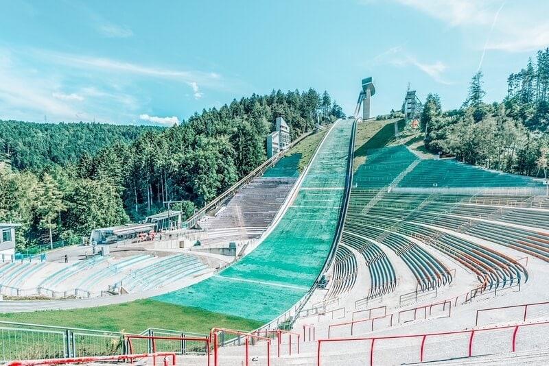 Bergiselschanze ski jumping hill tower