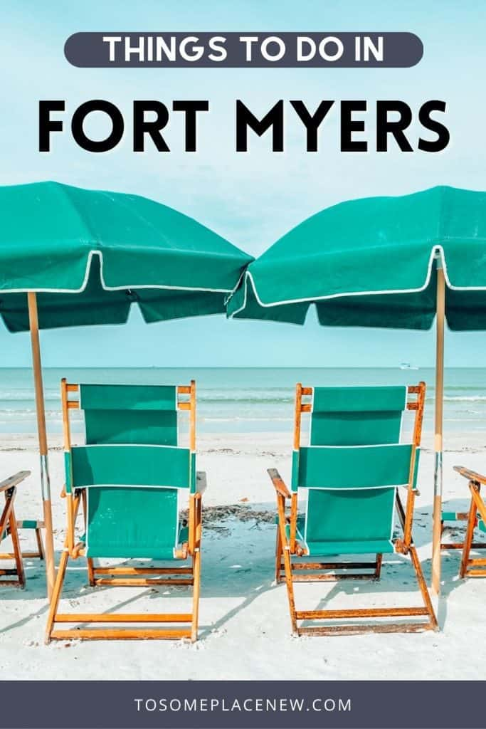 Pin for one day in Fort Myers itinerary