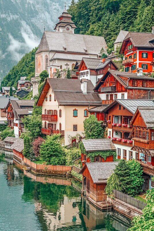 Architecture of Hallstatt