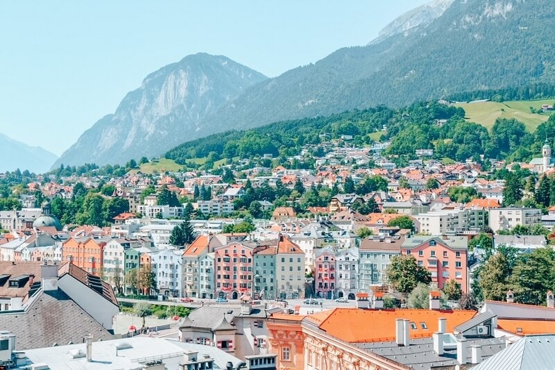 cityscape of Innsbruck